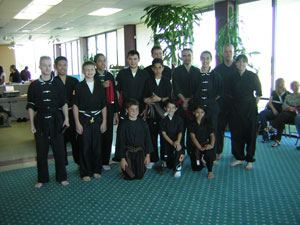 Brown and Black belt test pictuture