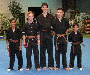 Brown Belt test