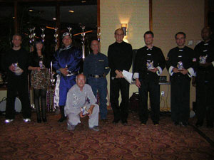 Wang's Martial Arts black belt picture