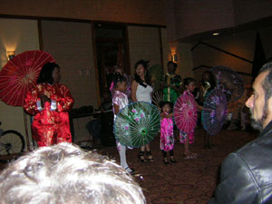 Chinese New Year fashion show picture