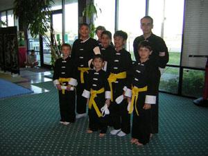 Kung Fu rank test jr picture