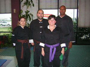 Kung Fu rank test of Carrie Wilkerson picture