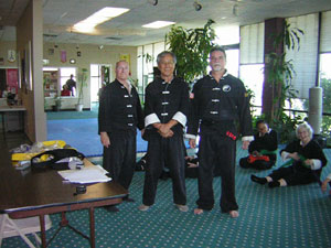 Wang's Martial Arts Tai Chi test on March 24, 2012 picture