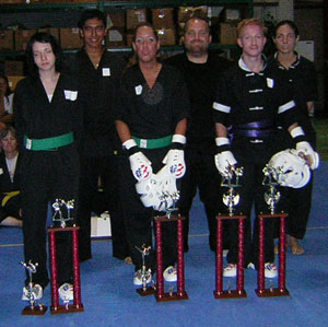 Martial Arts tournament picture