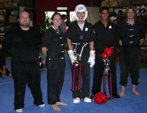 Kung Fu tournament picture