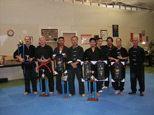 Wang's Martial Arts tournament picture