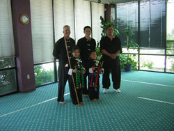 Wang's Martial Arts 5-8 jr. weapon picture