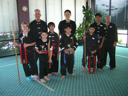 Wang's Martial Arts student picture.